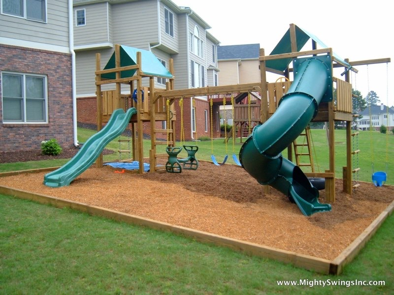 Swingsets And Playsets L Mighty Swings Play Systems L  Mightyswingsplaysets.com